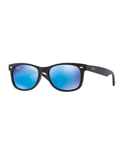 Ray-Ban Children's Mirrored Wayfarer Sunglasses