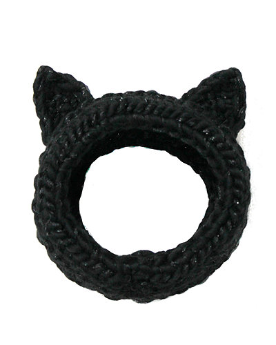 Eugenia Kim Kat Hand-Knit Headband w/Cat Ears
