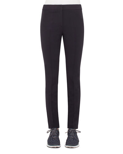 Franca Mid-Rise Cropped Pants