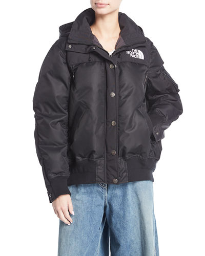 The North Face&#174 Puffer Bomber Coat