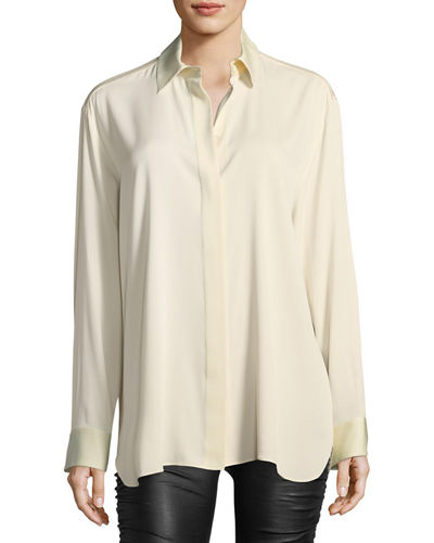 Sisea Relaxed Silk Blouse