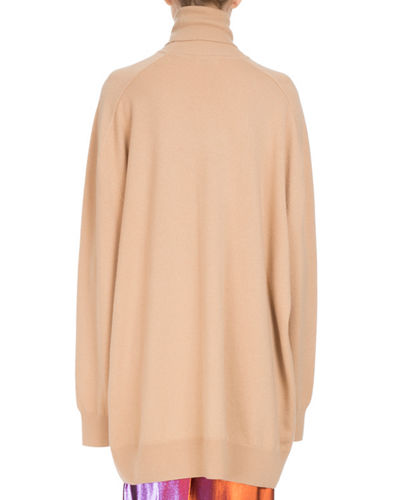 Timael Oversized Cashmere Turtleneck Sweater