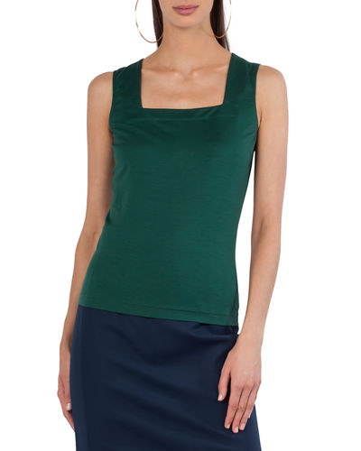 Jersey Square-Neck Tank