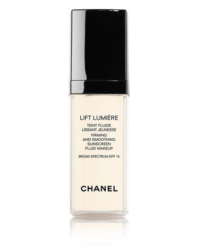 CHANEL LIFT LUMIÈRE Firming And Smoothing Sunscreen Fluid