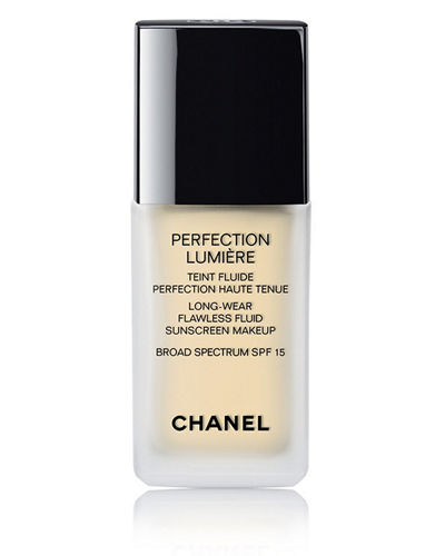 <b>PERFECTION LUMIÈRE </b><br>Long Wear Flawless Fluid Sunscreen Makeup Broad Spectrum SPF 15