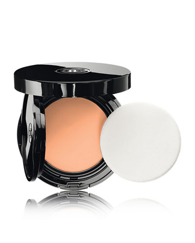 <b>VITALUMI&#200RE AQUA</b> <br>FRESH & HYDRATING CREAM COMPACT SUNSCREEN MAKEUP BROAD SPECTRUM SPF 15