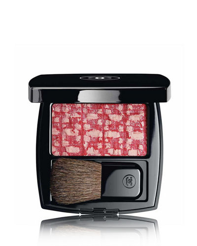 <b>LES TISSAGES DE CHANEL</b><br> BLUSH DUO TWEED EFFECT