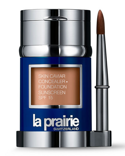 La Prairie Skin Caviar Concealer and Foundation Sunscreen