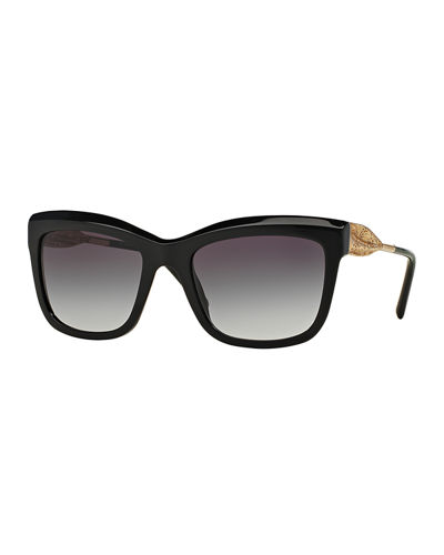Cat-Eye Lace Sunglasses