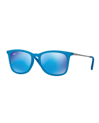 Junior Mirrored Wayfarer Sunglasses