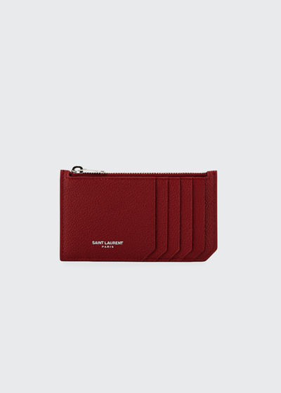 Zipped Fragments Card Case