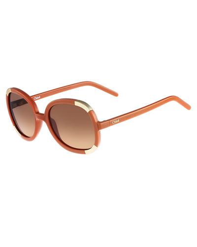 Girls' Myrte Round Capped Sunglasses