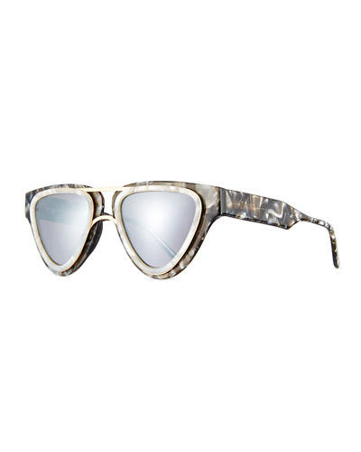 Sodapop V Triangular Sunglasses