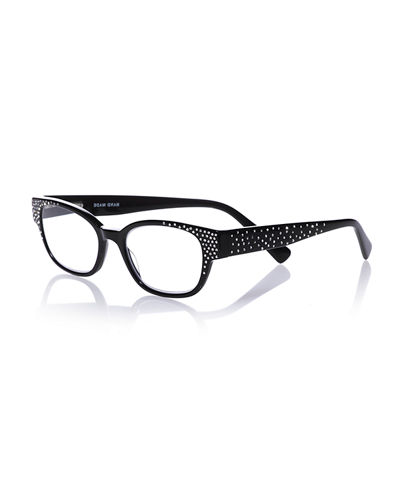 Eyebobs Study Abroad Square Rhinestone Readers