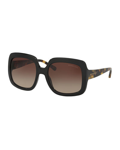 Chunky Gradient Square Sunglasses