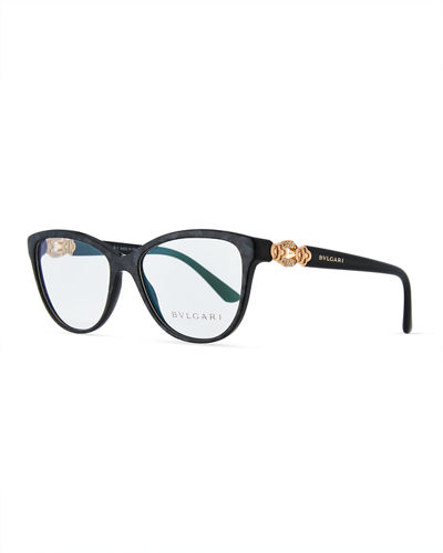 BVLGARI Square Acetate Optical Frames