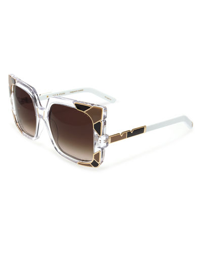 Sun and Shade Square Sunglasses