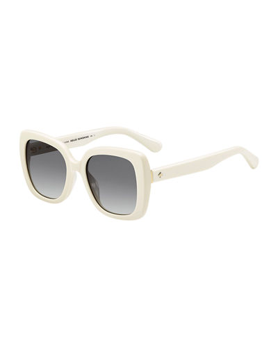 krystalyn square acetate sunglasses