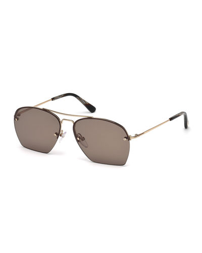 Whelan Cutoff Aviator Sunglasses