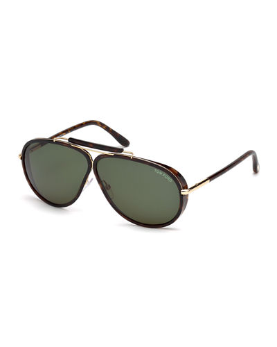 Cedric Oversized Aviator Sunglasses