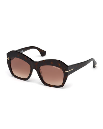 Emmanuelle Square Sunglasses