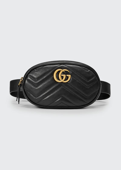 Gucci Belt Bag Black And White