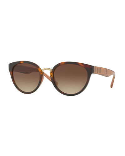 Mirrored Cat-Eye Sunglasses