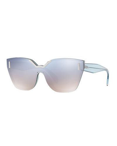 Two-Tone Butterfly Sunglasses