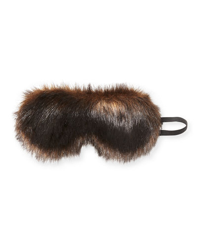 Faux-Fur Eye Mask on Gifting Card