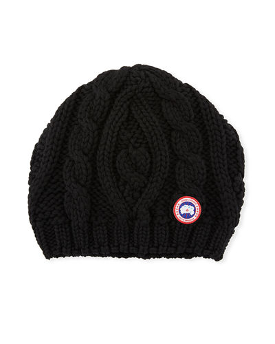 Ladies' Chunky Cable-Knit Beanie Hat