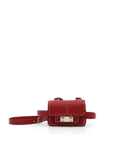Ziggy Stud Quilted Mini Belt Bag