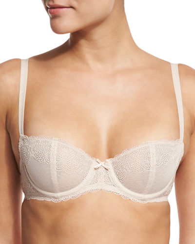 Le Marais Unlined Lace Demi Bra