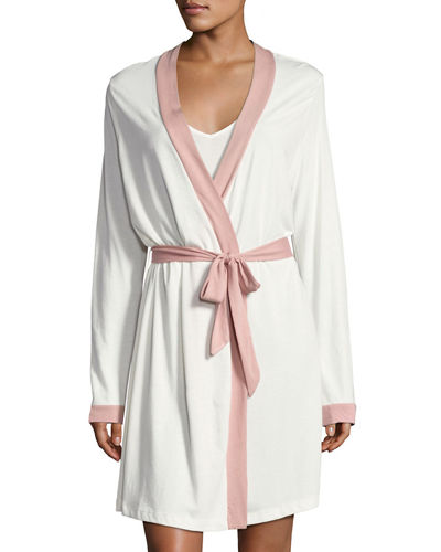 Cosabella Bella Long-Sleeve Knit Robe