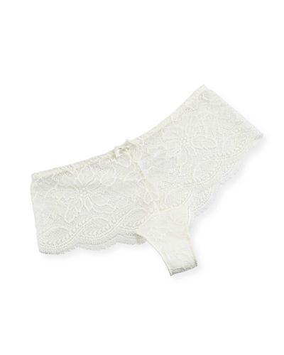 Eden Lace-Trim Boyshorts