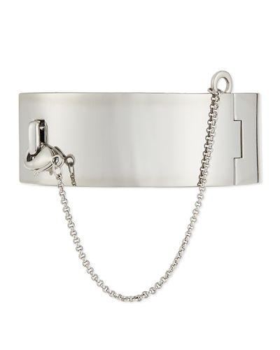 Safety Chain Cuff Bracelet