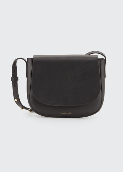 Vegetable-Tanned Leather Crossbody Bag
