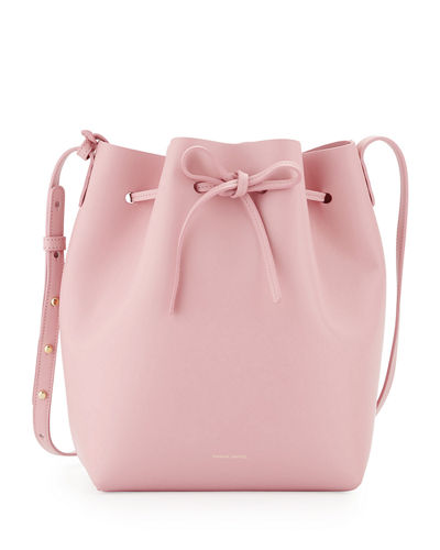 Mansur Gavriel Calf Leather Bucket Bag