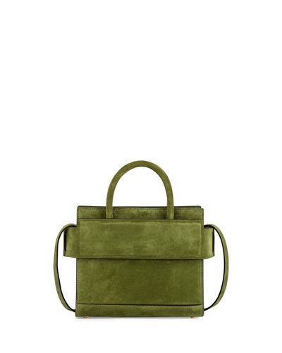Horizon Mini Suede Satchel Bag