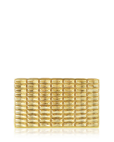 Judith Leiber Couture Duchesse Faceted Evening Box Clutch