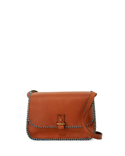 Rohan Medium Whipstitched Crossbody Bag