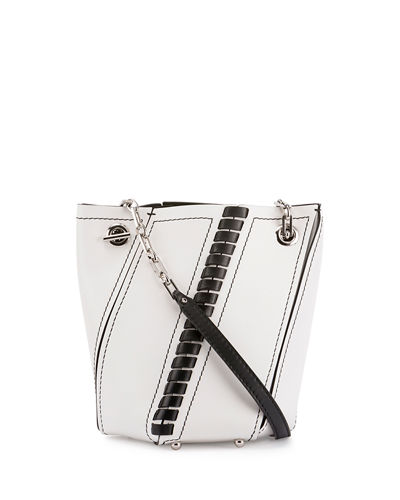 Proenza Schouler Hex Crossbody Leather Bucket Bag