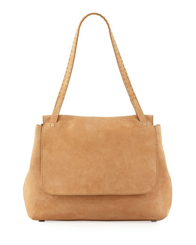 Sidekick Suede Shoulder Bag