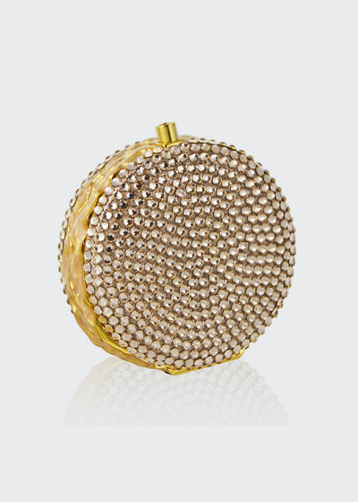 Judith Leiber Couture Macaron Crystal Pillbox