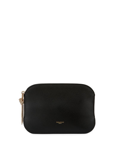 Nina Ricci Elide Leather Clutch Bag