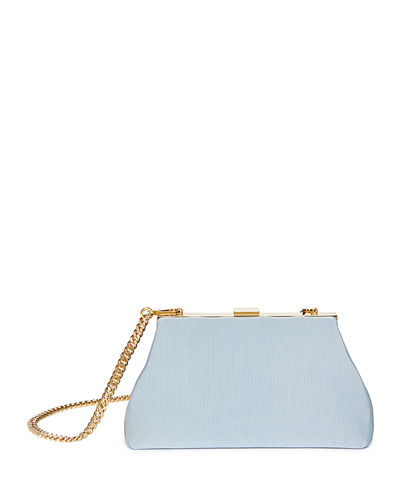 Mini Volume Grosgrain Clutch Bag