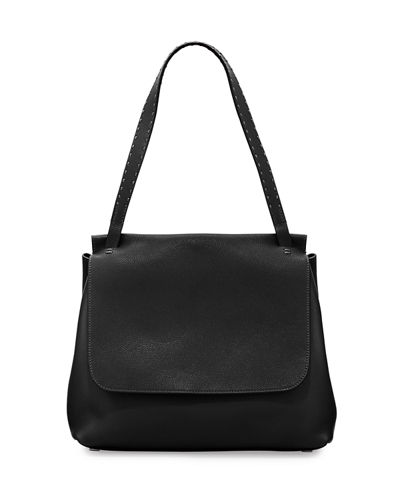 Sidekick Fine-Grain Leather Shoulder Bag