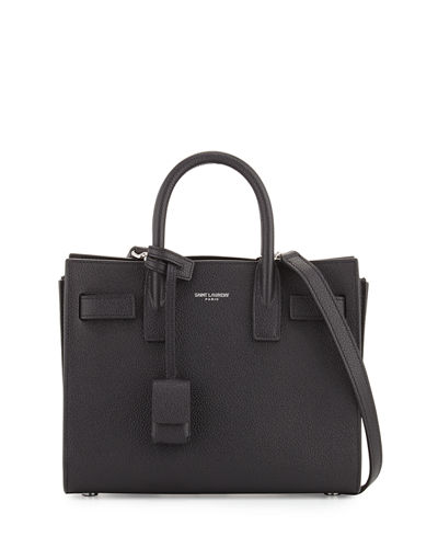 Sac de Jour Nano Leather Satchel Bag