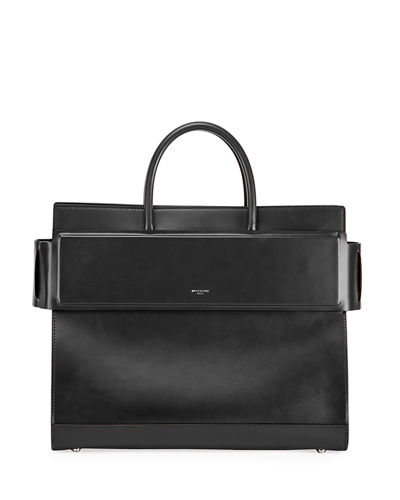 Horizon Medium Smooth Leather Satchel Bag