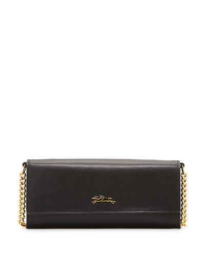 Longchamp Honoré 404 Leather Chain Wallet