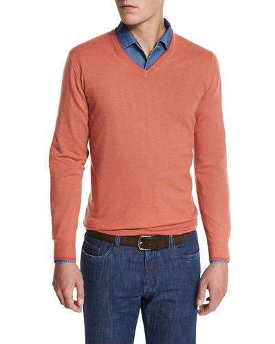 Loro Piana Cashmere V-Neck Sweater
